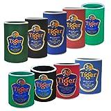 Wilai Flaschen-und Dosenkühler in verschiedenen Größen, Tiger (5 Stück Zufallsmischung)