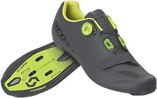Scott Road Vertec Boa Cycling Shoe - Men's Matte Grey/Neon Yellow, 43.0