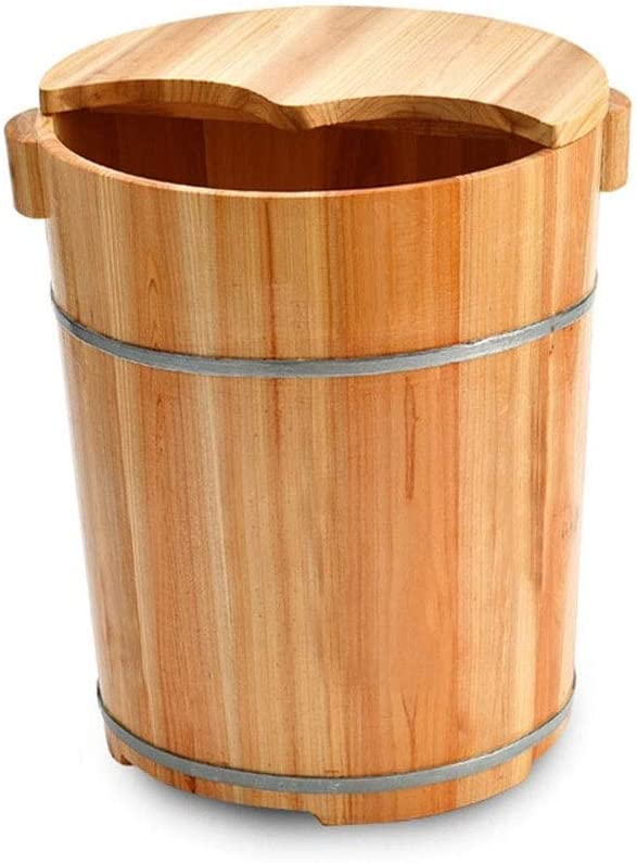 Direct store Phoenix Mall NCHEOI Thicken Foot Basin Wooden Barrel Health Bath Wo