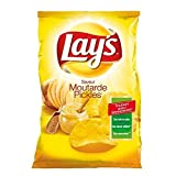 di Lay Chips senape sottaceti 130g - ( Prezzo unitario ) - Lay's chips moutarde pickles 130g