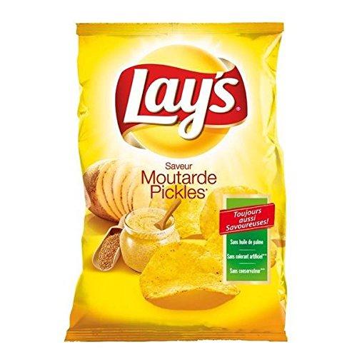 Lay Chips Senfgurken 130g - ( Einzelpreis ) - Lay's chips moutarde pickles 130g