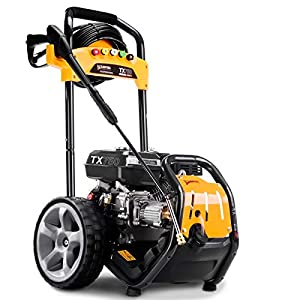 Wilks Genuine USA TX750 Petrol Pressure Washer - 8.0HP 3950psi / 272Bar by Wilks-USA