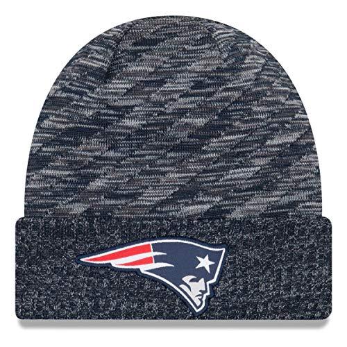 New Era New England Patriots Beanie NFL 2018 Sideline Sport Td Knit Navy/Grey - One-Size