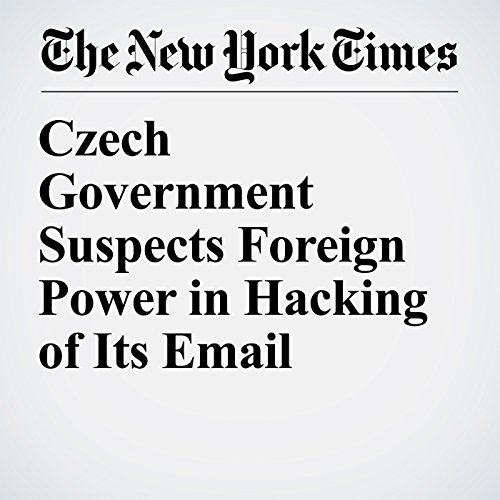 Czech Government Suspects Foreign Power in Hacking of Its Email copertina