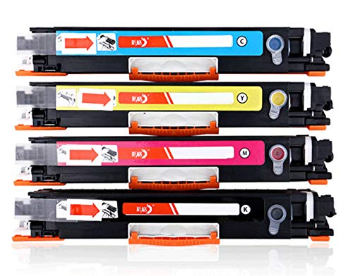 PGODYQ Cartridge CE310A M175NW M275A HP126A compatibele HP Color LaserJet CP1025 CP1025NW M175A M175NW M275MFP laserprinter All-in-One Toner Cartridge originele benodigdheden, size, ALLE
