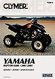 Clymer Yamaha Raptor 660R 2001-20 (Clymer Motorcycle Repair, Vendor Id M280-2)