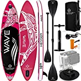 KESSER® Aufblasbare SUP Board Set Stand Up Paddle Board | 320x76x15cm 10.6