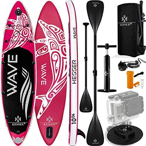 KESSER® SUP Board Set Pink 320x76x15cm