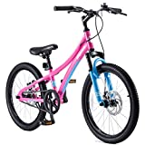 Royalbaby Boys Girls Kids Bike Explorer 20 Inch Bicycle for 7-12 Years Old Front Suspension Aluminum Child's Cycle with...