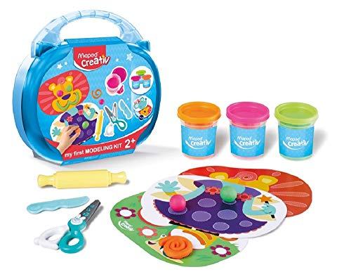 Maped Creativ - Kit de pâte à modeler et accessoires - Loisirs créatifs enfants - Premier Age