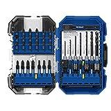 Kobalt XTR Impact 40-Piece High-Speed Steel Hex Shank Screwdriver Bit Set