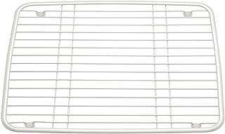 Metallo madreperla bianco Scolapiatti da lavandino con piedini antigraffio e antiscivolo InterDesign Axis Griglia lavandino Griglia scolapiatti da lavello
