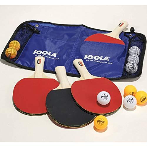 JOOLA Unisex– Erwachsene Tisch Tennis-Set-54808 Tennis-Set, mehrfarbik, One Size