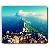 Yanteng Alfombrilla de ratón, montañas, Cielo Nubes, Piedras de la Cordillera, Game Office Mousepad
