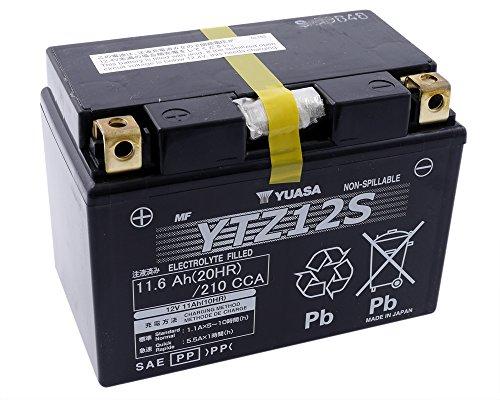 YUASA YTZ 12 S batterij onderhoudsvrij (AGM) Prijs incl. wettelijke garantie op batterijen € 7,50 incl. BTW
