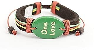 one love rasta bracelet