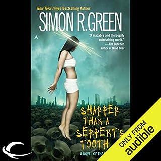 Sharper Than a Serpent's Tooth audiobook cover art