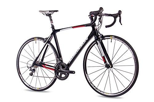 CHRISSON Bicicleta de carreras profesional de carbono Pro Road Team de 28 pulgadas con 20 G Shimano ULTEGRA de 61 cm.