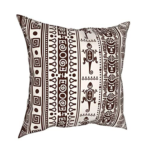 Kissenbezug Kissenbezüge 45x45cm Imagen Vectorial De Patrones Sin Fisuras Indio Mexicano Dekoration für Home Decor Office Sofa Holiday Bar Kaffee Hochzeit Auto
