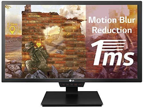 LG 24GM79G-B 60,96 cm (24 Zoll) UltraGear™ Full HD Gaming Monitor (144 Hz, 1ms MBR, AMD Radeon FreeSync, DAS Mode), schwarz