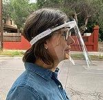 KMINA PRO - Pantalla Protección Facial Transparente (Pack x10 uds), Visera Protección Facial, Protec... #3