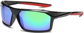 GLJJQMY Sports Polarized Sunglasses Outdoor Riding Glasses Male UV Protective Sunglasses Sunglasses (Color : Green)