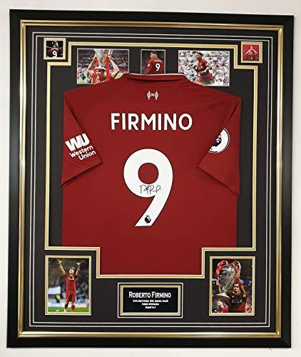 www.signedmemorabiliashop.co.uk Signiertes Trikot von Roberto Firmino