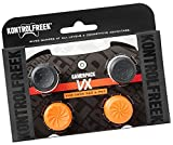 KontrolFreek GamerPack VX for PlayStation 3 (PS3) and Xbox 360 Controller | Performance Thumbsticks | 3 High-Rise, 1 Mid-Rise Concave | Black/Orange