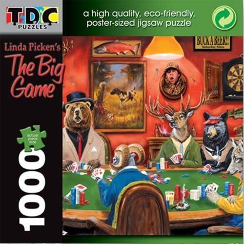 hasta 60% de descuento TDC Games Eco Eco Eco Friendly Puzzle - The Big Game by TDC Games  venderse como panqueques