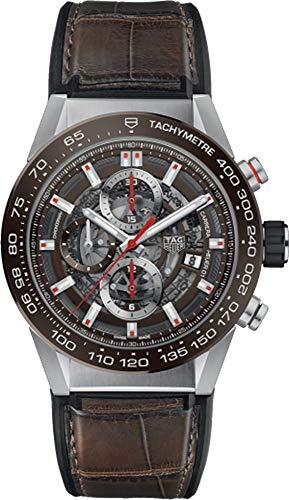 Tag Heuer Carrera Calibre Heuer 01 reloj automático de los hombres CAR201U.FC6405