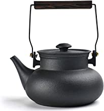Czajnik ceramiczny zaparzacz do herbaty retro czarny czajniczek do herbaty elektryczny ceramiczny kuchenka domowa kuchenka...