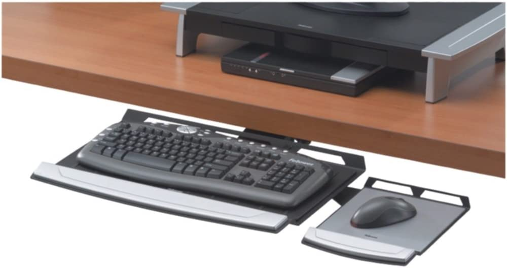 Fellowes 8031301 Direct stock discount Keyboard Tray Office W Adjustable Sale special price Suites Memory