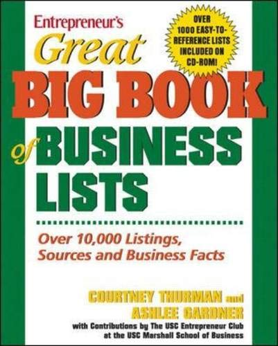 Great Big Book of Business Lists (Great Big Book of Business Lists: All the Things You Need to Know to)