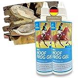 EMMA® - Gel radiante per la cura dei zoccoli e della suola, per la prevenzione delle muffe dei cavalli, prodotto per la protezione del fascio di zoccoli e della cura del cavallo, 2 x 100 ml