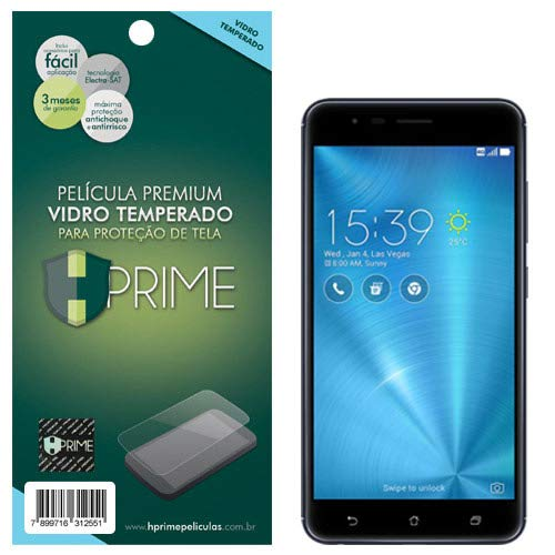 "Pelicula de Vidro temperado 9h HPrime para Asus ZenFone 3 Max 5.2"" ZC520TL, Hprime, Película Protetora de Tela para Celular, Transparente"