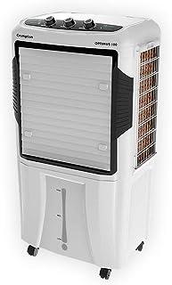Crompton Optimus Desert Air Cooler - 100L, White