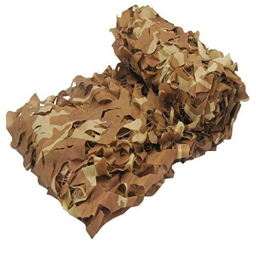 Tentzeil, meerdere soorten, stof, 150D, Oxford-net, camouflage, met koord, zonwering, verborgen door de zon, camping, camouflage, maat variabel (kleur: D, maat 5*5m C