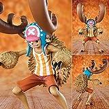 HZLQ One Piece Transfiguración de Segunda generación Tony Tony Chopper,Anime Modelo Estatua Adornos Animados Colección de Arte de Personajes Figura de acción de Juguete 17.5cm
