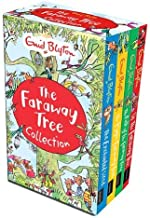 Enid Blyton The Magic Faraway Tree Collection 4 Books Box Set Pack (Up The Faraway Tree, The Magic Faraway Tree, The Folk of the Faraway Tree, The Enchanted Wood)