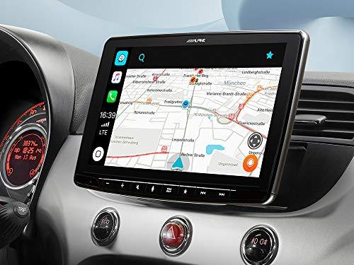 """Mobile Media System da 9"""" per Fiat 500 (312) - con Apple CarPlay & Android Auto iLX-F903-312 (nero)"""