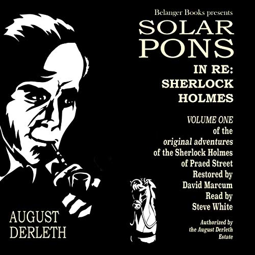 In Re: Sherlock Holmes audiobook cover art