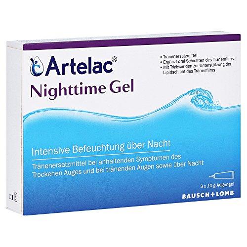 artelac nighttime augengel, 3x 10G