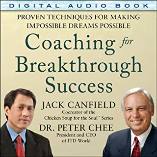 Coaching for Breakthrough Success audiobook cover art