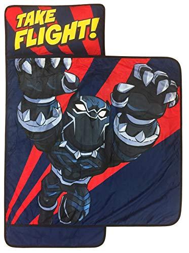 Jay Franco Marvel Super Hero Adventures Hulk Smash Nap Mat - Built-in Pillow and Blanket - Super Soft Microfiber Kids