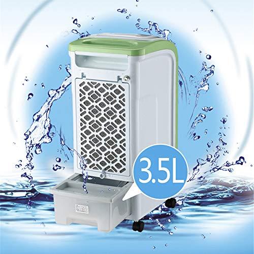 ESAILQ-Home 4 en 1 humidificador mecánico Manual del Ventilador del ambientador de Aire del refrigerador de Aire