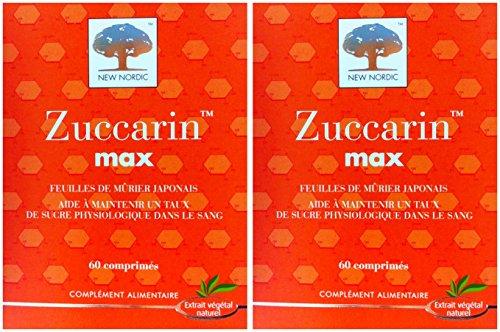 New Nordic Zuccarin Max 60 Cps – Set di 2
