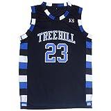 TUEIKGU Mens Ravens Basketball Jersey #23 Nathan Scott Sports Movie Jersey Black (XXX-Large)