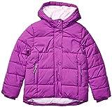 Amazon Essentials Heavy-Weight Hooded Puffer Coat dress-coats, Púrpura brillante, 3 años