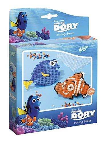 Totum 780026 - Disney Findet Dorie, Bügelperlen Bastel Set