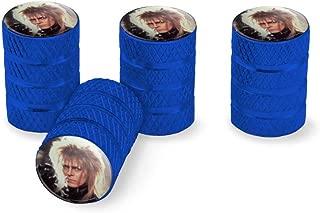 Graphics and More Labyrinth Goblin King Crystal Ball David Bowie Jareth Tire Rim Wheel Aluminum Valve Stem Caps
